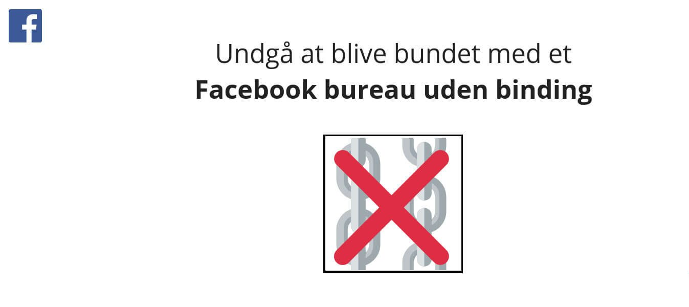 Facebook bureau uden binding med Become marketing